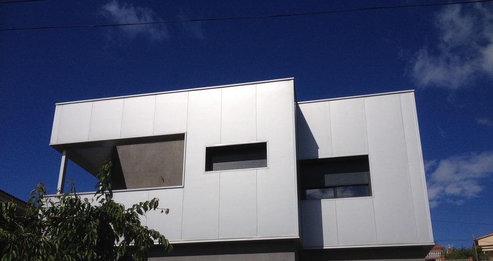 Recubrimiento de fachadas